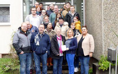 Spende der Firma Zschau-EDV GmbH an den Sozialverein
