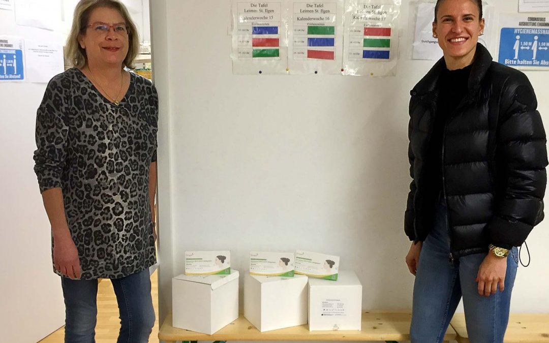 Spende der Firma Container Weis Entsorgung GmbH an die Tafelmitarbeiter
