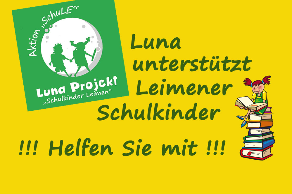 Luna unterstützt Leimener Schulkinder